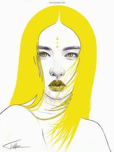 Yellow I by Tomasz-Mro.deviantart.com on @DeviantArt