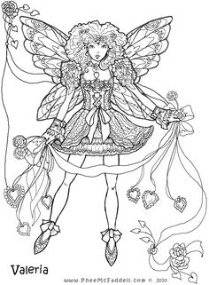 valeria fairy coloring page tons of free fairy tale digis at wwwpheemcfaddell