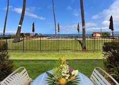 1603117 Hale Kai Honokowai West Maui Vacation Condo Rental Oceanfront | Maui Hawaii Vacations Lanai