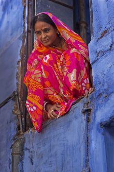 Blauwe stad (gemaakt in Jodhpur), copyright Margo Veldhuizen