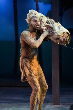 Caliban from the Tempest costume