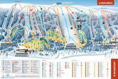 Sälen Lindvallen Piste Map (High resolution / .JPEG) #skiing #skistar…