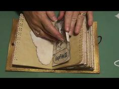 Vintage Inspirational Journal (sold) - YouTube