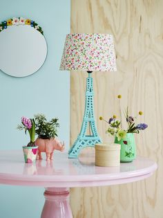 Glowing Crystal Eiffel Tower Lamp | Eiffel Tower Lamp, Tower And Crystals