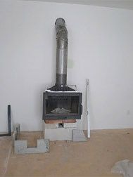Argan s.r.o. Wood Stove Heater, Fireplace Console, Home Appliances, Stoves, Fire Places, Drive Way, Houses, House Appliances, Appliances