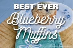 If you're looking for an amazing blueberry muffins recipe, LOOK NO FURTHER! These easy-to-make blueberry muffins are quick and tasty! Muffin Recipes, Breakfast Recipes, Healthy Meals To Cook, Frozen Blueberries, Blue Berry Muffins, How Sweet Eats, Yummy Eats, Sweet Bread, Us Foods