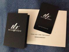 free Mr. Burberry fragrance card sample #freestuff #freebies #samples #free