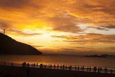 Sunset at TanTou Island - China