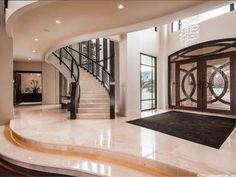 Dream Home Design, My Dream Home, Home Interior Design, Luxury Estate, Luxury Homes, Luxury Lifestyle, Elegant Kitchens, Foyer Decorating, Interior Decorating