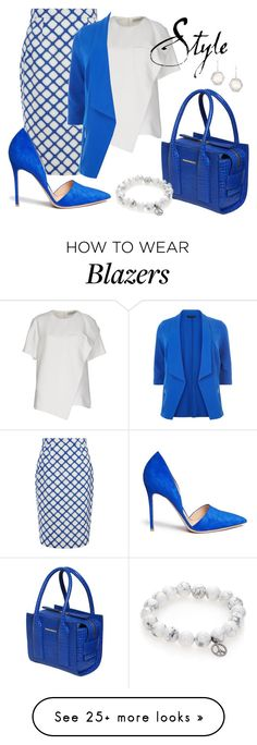 """""""style"""" by sandevapetq on Polyvore featuring Jonathan Saunders, Balenciaga, Dsquared2, Sydney Evan, Gianvito Rossi and New Look"""