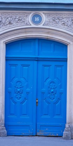 Blue Door in Vienna , ♥ , from Iryna
