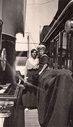 Tatiana and Alex at The Standard, July 6, 1914