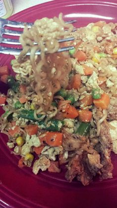 Mrs. Scales' Recipes n' Things: Ramen Noodle Stir Fry (Cheap & Easy Dinners)