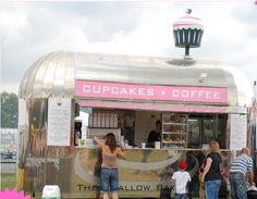 My new goal is to get my hands on a vintage airstream type trailer and gut it to create a mobile bakery!