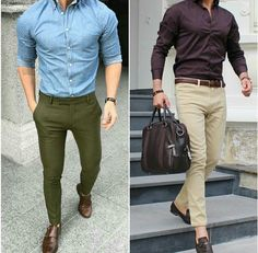 Left or right? Mens Modern Clothing, Mens Clothing Styles, Designer Suits For Men, Designer Clothes For Men, Indian Men Fashion, Mens Fashion, Fashion Outfits, Formal Men Outfit, Business Casual Outfits
