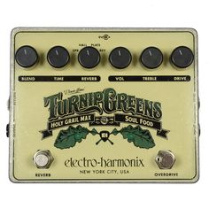 Electro-Harmonix Turnip Greens Multi-Effects Pedal w/Soul Food & Holy Grail Max   Chicago Music Exchange