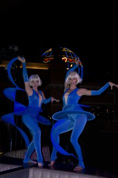 BLUE FLOWERS DANCE - Las Vegas special event entertainment, new ideas www.noveltyent.com