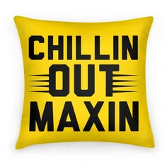 "Chillin Out Maxin Relaxin All Cool: Stay fresh with this 90's inspired design. You won't be able to stop yourself from singing the rest of this famous television tune after reading ""Chillin out maxin relaxin all cool."" #freshprince #90s #willsmith #philadelphia #themesongs #chilling #90stv"