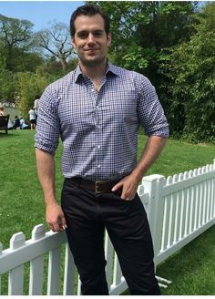 Henry Cavill I love the way he dresses!!! PERFECT!