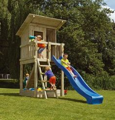 parques infantiles, columpios, toboganes, casitas infantiles, casitas de madera…