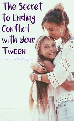 The surprisingly simple way to end conflict with your tween, get them to open up to you, and teach them how to better manage their emotions.