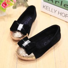 2014 special offer conjunto infantil meninas sapatos infantis girls princess style matte flat shoes sequined bow diamond casual