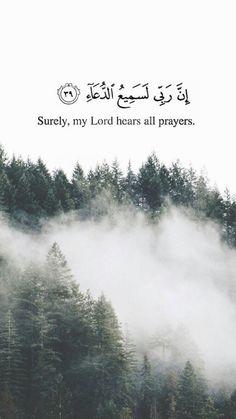 Allah hears all prayers❤️