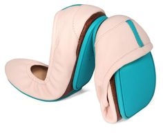 Ballerina Pink tieks flats I really want to try these out they are said to be so comfy!
