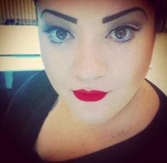 A @lilikats2, do Beauty Team da NYX Tucuruvi é apaixonada pelo estilo Pin up e usou o Soft Matte Lip Cream Amsterdam para complementar perfeitamente essa make http://www.nyxcosmeticos.com.br/index.php?route=product/product&path=81_94&product_id=122