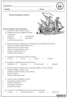 SOS PROFESSOR-ATIVIDADES: Revisão de Geografia e História - 2º bimestre