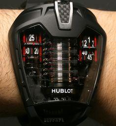 Hublot MP-05 La Ferrari #watch #watches #luxury #watchporn #luxurywatch #wiwt #chronollection #timepiece #design #lifestyle #fashion #menswear #hublot