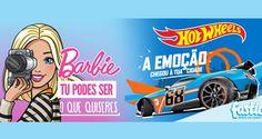 Água do Fastio lança Fastio Barbie e Fastio Hot Wheels