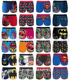 Mens #superhero marvel batman animal boxers #shorts #trunks 1 brief new free p&p,  View more on the LINK: 	http://www.zeppy.io/product/gb/2/201435590903/