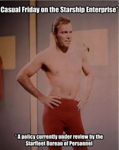 **And currently being fought for by Starfleet women. William Shatner, Star Trek
