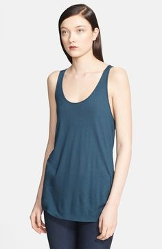 Helmut Lang 'Scala' Twisted Back Tank available at #Nordstrom