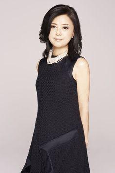 薬師丸ひろ子「」3枚目/3 Japanese Mythology, Blue Back, Beautiful Actresses, Asian Woman, High Neck Dress, Feminine, Elegant, Womens Fashion, Beauty