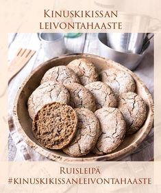 Parhaat ruisleipäset (100 % ruista) | Reseptit | Kinuskikissa