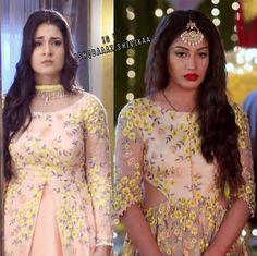 """Namkaran """"Avni and Annika. Just recently Avni worn the same dress for her bithday in Naamkaran whereas Annika…"""""""