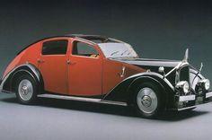 VOISIN C-25 AERODYNE (1934). @designerwallace