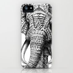 Ornate Elephant by BioWorkZ as a high quality iPhone & iPod Case. Free Worldwide Shipping available at Society6.com from 11/26/14 thru 12/14/14. Just one of millions of products available.