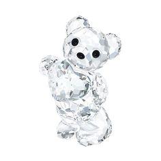 Swarovski Kris Bear Birthstone April ($100) ❤ liked on Polyvore