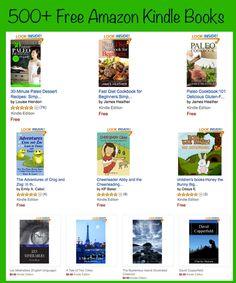Free Kindle Books - Big List of Free Amazon Kindle Books.  Over 500 Free Books! http://www.amazon.com/dp/B00C397CIE