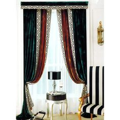 Ulinkly is for affordable custom luxury window curtains, drapes and valances with various custom selections and wholesale price, luxury curtains wholesale online. Drapery Styles, Curtain Styles, Curtain Designs, Luxury Curtains, Custom Curtains, Green Curtains, Window Curtains, Most Comfortable Couch, Classic Curtains