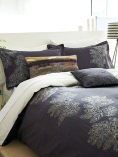 Bedeck Fortino Duvet Cover King Grape: Amazon.co.uk: Kitchen & Home