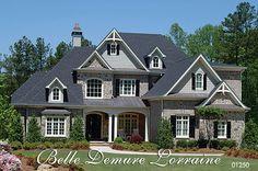 Belle Demure Lorraine House Plan # 01250, Luxury European & Rusitc Mountain House Plans