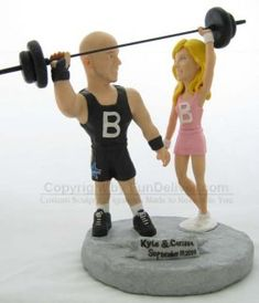 The Crossfit Wedding Dumbbell Placement Cards My