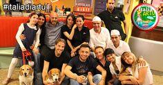 Grande successo alla Pizzeria PIZZA OK a Milano per l' Italia di Artù