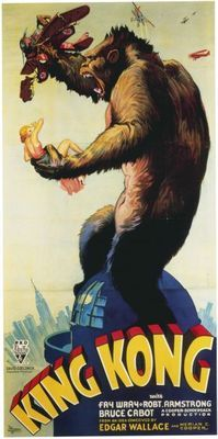 King Kong (1933) movie #poster, #tshirt, #mousepad, #movieposters2