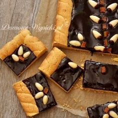 Chocolate Mazurek for Easter   (recipe in Polish with translator)