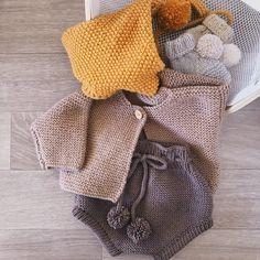 03ed99b8187 Hand Knitted Merino Wool Baby Bloomers